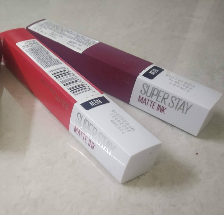 Maybelline New York Super Stay Matte Ink Liquid Lipstick – Review andSwatches